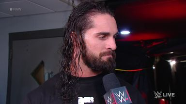 Rollins promises to end Lesnar's reign