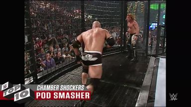 Shocking Elimination Chamber moments