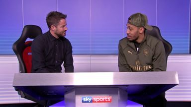 Auba confident ahead of City clash
