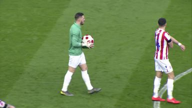 Butland wears Banks tribute kit