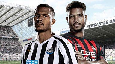 Newcastle v Huddersfield