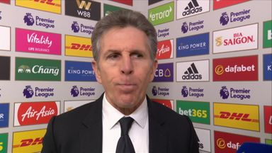Puel 'angry' with Leicester's poor start