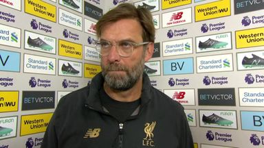 Klopp: We wanted to show a reaction