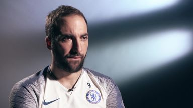Higuain: We're on the way back up