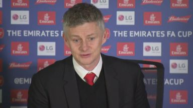 Ole targets FA Cup final for United