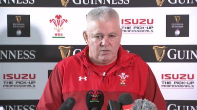 Gatland: Anscombe fitter than Biggar