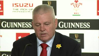 Gatland: We've forgotten how to lose