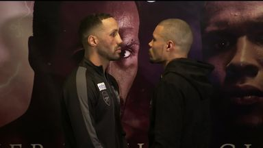 DeGale vs Eubank face-off