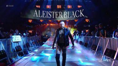 Aleister Black cancels Elias' performance