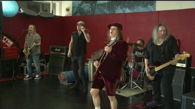 Wigan rock out to AC/DC tribute band