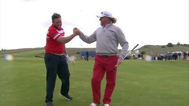 Dancing golfers: Du Beke's verdict