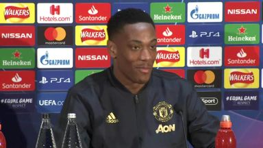 Martial backs Ole for Man Utd job