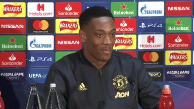 Martial backs Ole for Man Utd job
