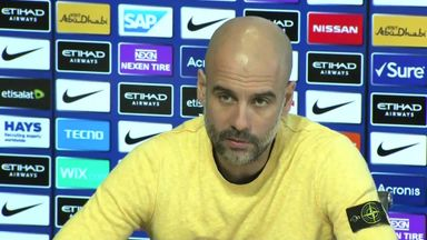 Pep sends best wishes to injured fan