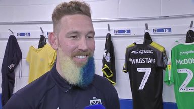 Wagstaff's blue beard!