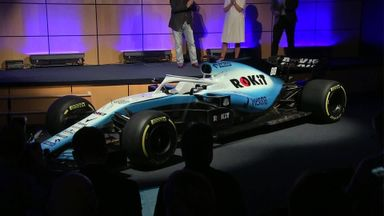 Williams reveal new look