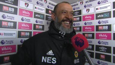 Nuno sympathises with referees
