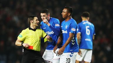 Morelos' hat-trick of red cards