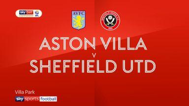 Aston Villa 3-3 Sheffield United
