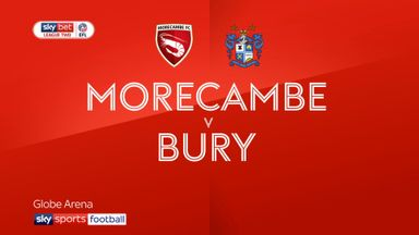 Morecambe 2-3 Bury