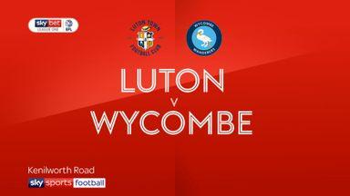 Luton 3-0 Wycombe