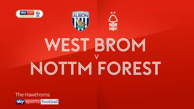 West Brom 2-2 Nottingham Forest