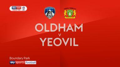 Oldham 4-1 Yeovil