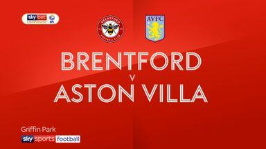 Brentford 1-0 Aston Villa