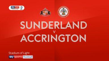 Sunderland 2-2 Accrington