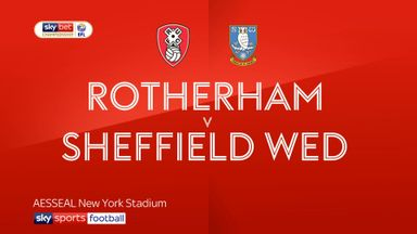 Rotherham 2-2 Sheffield Wed