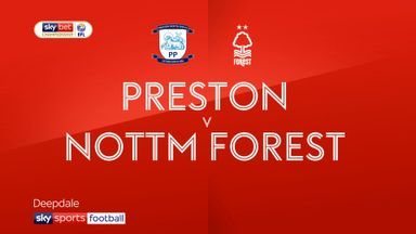 Preston 0-0 Nottingham Forest