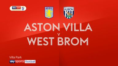 Aston Villa 0-2 West Brom
