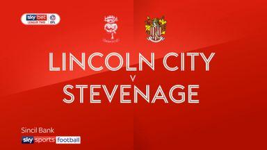 Lincoln 2-2 Stevenage