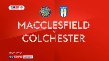 Macclesfield 1-1 Colchester