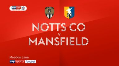 Notts County 1-0 Mansfield