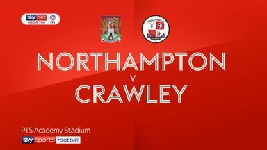 Northampton 0-0 Crawley