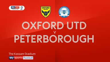 Oxford Utd 0-1 Peterborough