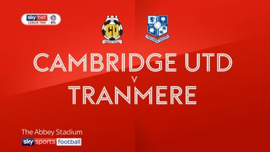 Cambridge 0-0 Tranmere