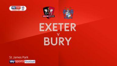 Exeter 0-1 Bury
