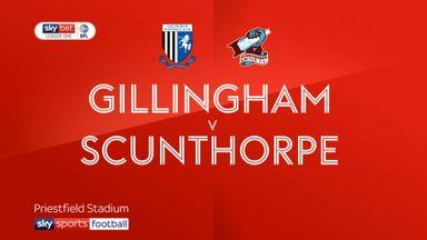 Gillingham 1-0 Scunthorpe