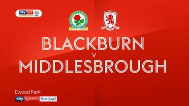 Blackburn 0-1 Middlesbrough