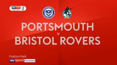 Portsmouth 1-1 Bristol Rovers