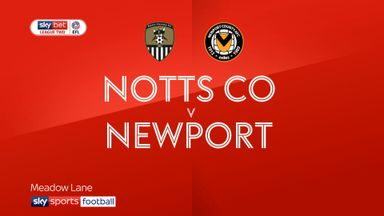 Notts County 1-4 Newport County