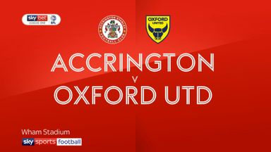 Accrington 4-2 Oxford Utd