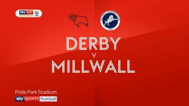 Derby 0-1 Millwall