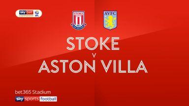 Stoke 1-1 Aston Villa