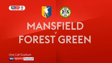 Mansfield 1-0 Forest Green