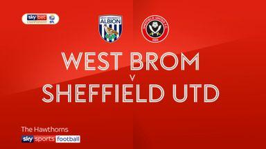 West Brom 0-1 Sheff Utd