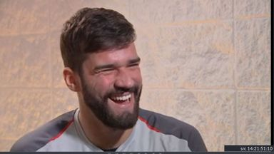 Can Alisson speak Scouse?
