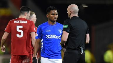 Morelos' red cards this season